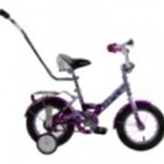 Велосипеды детские Dolphin 12 c ручкой фото