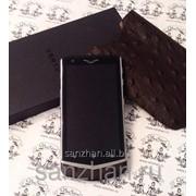 Телефон Vertu Constellation V Cognac Ostrich с отделкой кожи страуса эксклюзив 86527 фото
