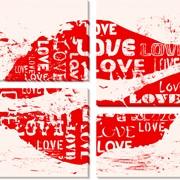 Модульная картина Любовь_4 , Неизвестен фото
