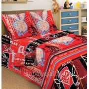 Комплект постельного белья 1,5 СПАЛЬНЫЙ ПЕРКАЛЬ 50 Х 70 Плейбой фото