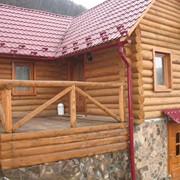 Деревянные дома, бани, сауны, рестораны Украина фото