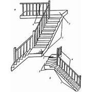 """Лестницы. Профессиональные лестницы """"под ключ"""". Собственное столярное производство. фото"""