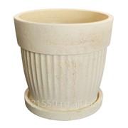 Горшок для цветов керамический Лора фото