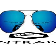 Очки Авиатор с ярко-синими линзами фото