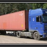 Перевозка грузов контейнерами фото