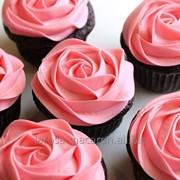Маффины кекс-шоколад со вкусом розы заказ от 6 штук фото