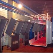 Полимерно-порошковая покраскаМаксимальные габаоитные размеры деталей в метрах Д хВхШ =6 х 2 х 1,5 фото
