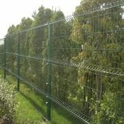 Металлический забор 3D Somer 2500х2030 (Нидерланды) фото