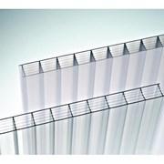 Поликарбонат прозрачный разной толщины фото