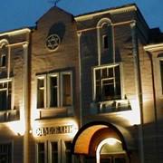 Подсветка фасадов фото