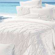 Комплект постельного белья белый фото