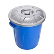 Бак пластиковый с крышкой С331 фото