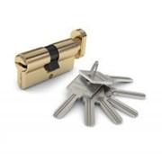 Цилиндр ключ-фиксатор, золото фото