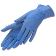 Перчатки нитриловые, одноразовые фото