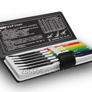 Твердомеры металлов - тарированные напильники комплект из 6 шт. Tsubosan 1 фото