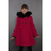 Пальто зимнее 7-505-870 (фуксия) фото