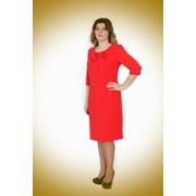Платье красное фото