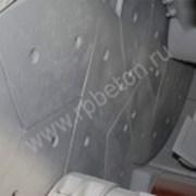 Комплект брони на бетоносмеситель двухвальный JS фото