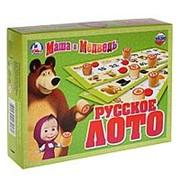 134160 Русское лото Маша и Медведь Умка фото