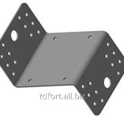 Кронштейн крепежный равносторонний с ребром жесткости Б4/6, арт. 2629 фото