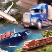 Перевозки комбинированные грузовые транспортные фото