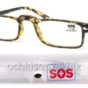Очки для чтения SOS унисекс модель P 15079 ф Mat Yellow pattern фото