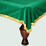 """Покрывало для стола 9 футов """"Бархат"""" фото"""