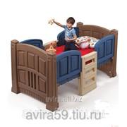 Кроватка с лесенкой
