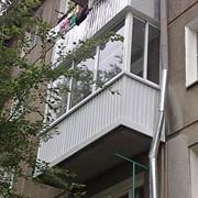 Остекление балкона пластиковыми конструкциями фото