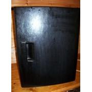 Бар-холодильник термоэлектрический чёрный закрытый фото
