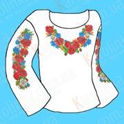 Заготовка для сорочки. КБС(х/б) - 01(детская 4-9 лет) фото