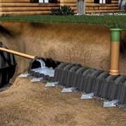 Установка дренажных и канализационных систем фото