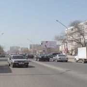 Реклама на билбордах г Актау 8 мкр фото