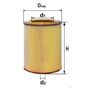 Фильтр воздушный Енисей, Икарус, IVECO, MAN, RENAULT, ВТ-100 DIFA 4307 М фото