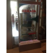 Установка и сервисное обслуживание водопадов по стеклу фото