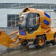 Самоходный бетоносмеситель фото