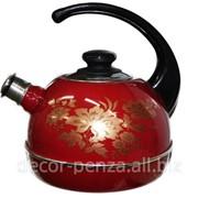 Чайник 3,5 литров бордовый-олимпия Т04-35-01-15 фото
