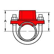 Небольшое Т-соединение с седлом фото