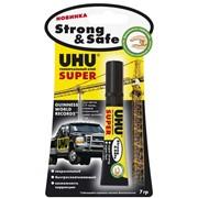 Универсальный секундный клей UHU SUPER Strong & Safe фото