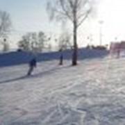Прокат лыж, санок фото