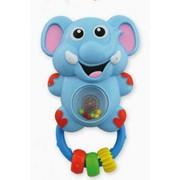 Погремушка музыкальная Слоненок Baby mix фото
