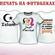 Сублимационная печать на футболках фото