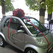 Decor auto cu baloane . bant фото