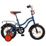 Детский велосипед Novatrack 12 Tetris синий фото