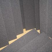 Поролон серый упаковочный пл. 22 г/кв.м, 100 мм*1,0*2,0 м фото