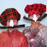 Костюм За тебя калым отдам (грузинские кепки с носом и усами) фото