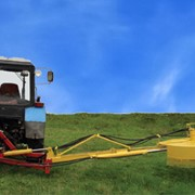 Кусторезка тракторная навесная КТН-1,3 (КР-1,3) фото