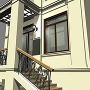 Дизайн фасадов и входных групп фото
