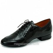 Обувь мужская для танцев стандарт модель Портер фото