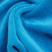 Велюр темная бирюза, ткани из натуральных и искусственных волокон